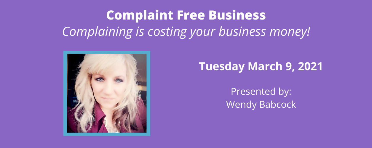 Complaint Free Business